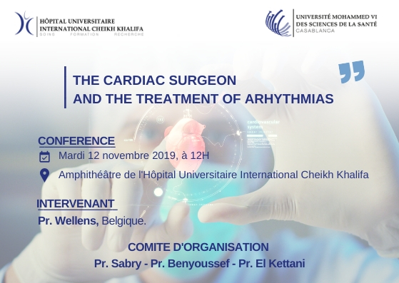 CONFERENCE : THE CARDIAC SURGEON AND THE TREATMENT OF ARHYTHMIAS