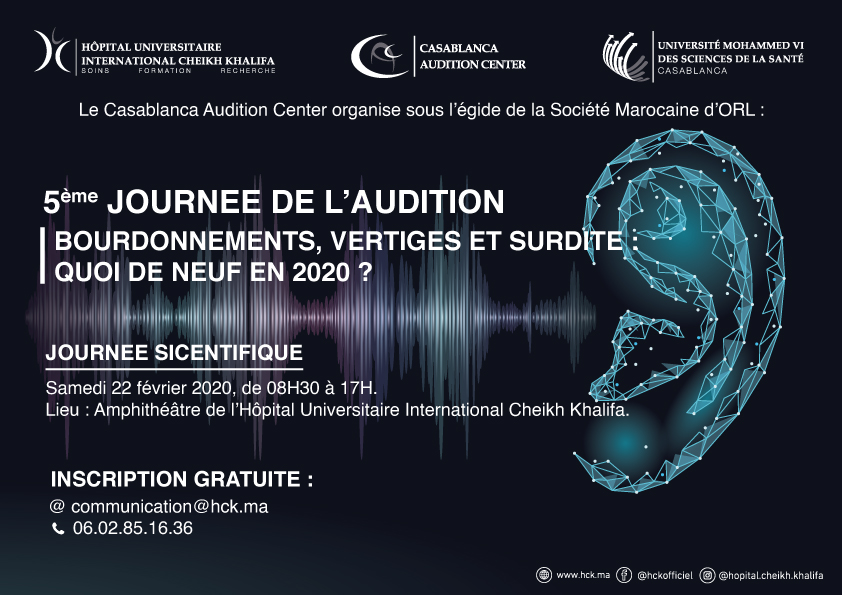 5EME JOURNEE DE L'AUDITION