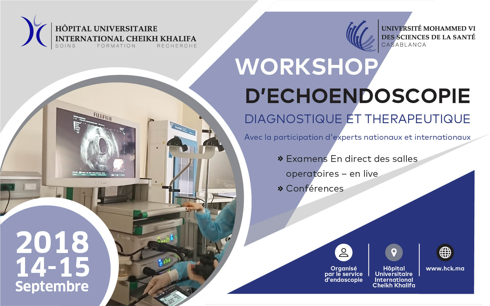 WORKSHOP D'ECHOENDOSCOPIE DIAGNOSTIQUE ET THÉRAPEUTIQUE