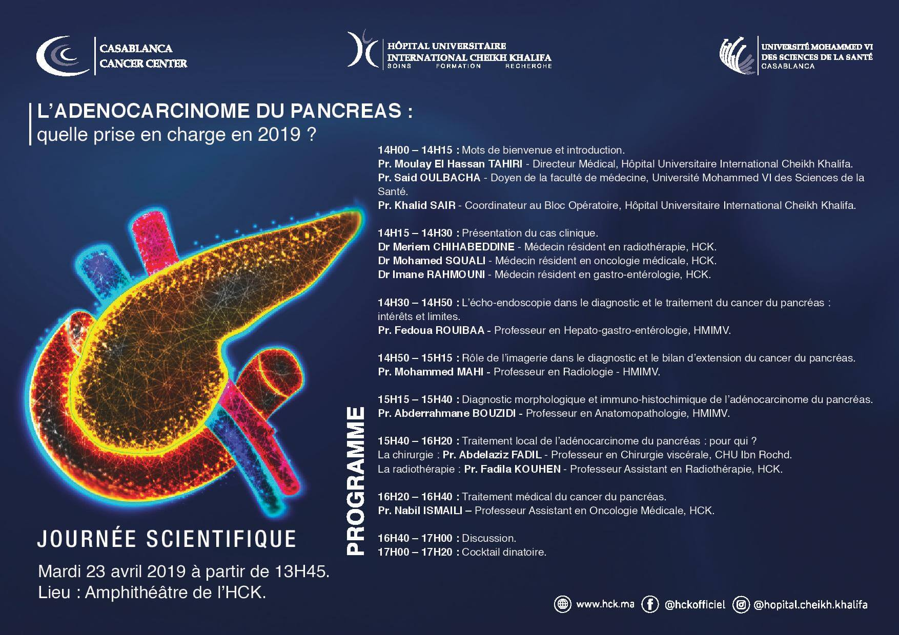 Programme-journee scientifique cancer du pancreas 23.04.2019 hck